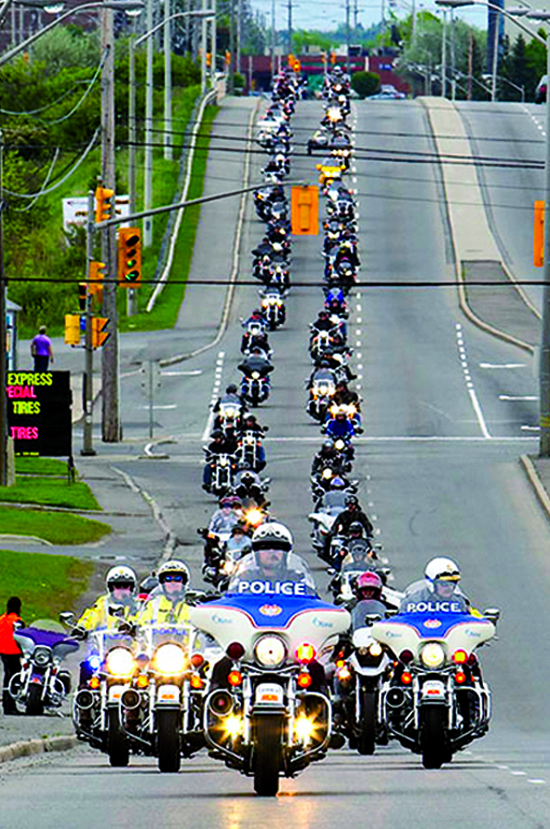MRFD Ottawa Ribbon of Motorcycles