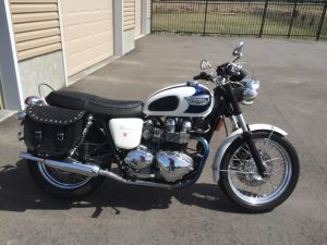 Rob T Triumph bike